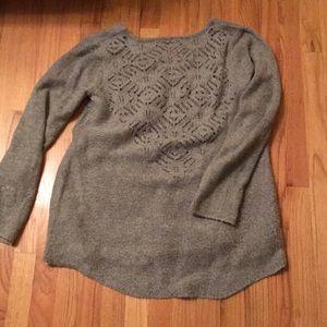 Beautiful Anthropologie tunic sweater